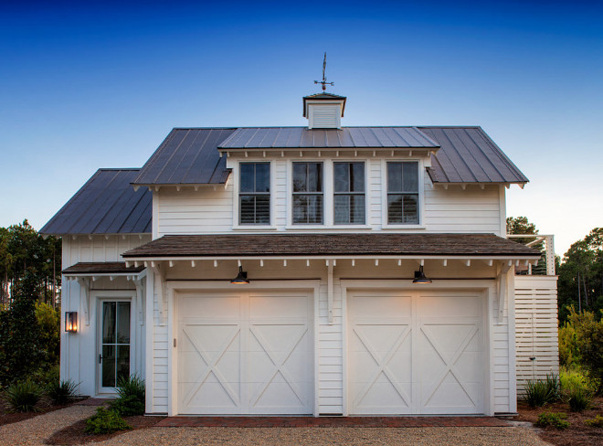 Farmhouse Garage Door. Garage Door. Farmhouse Garage Door Style. Farmhouse Garage Door is from Clopay #Farmhousegaragedoor #Farmhouse #GarageDoor Court Atkins Group