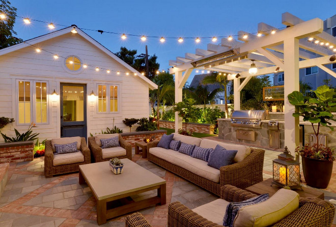 Interior design ideas home bunch interior design ideas for Outdoor kitchen under pergola
