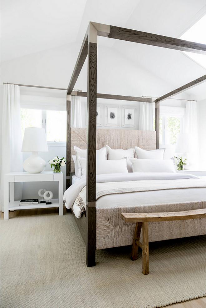 Sleek Bed Ideas. Modern farmhouse bedroom with Sleek Bed. Sleek Bed Ideas #SleekBed #bedIdeas Chango & Co.