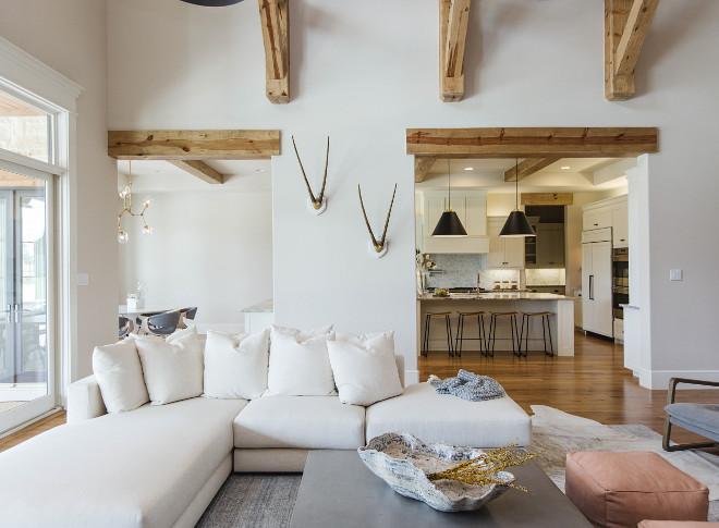 Beams. Living room beams. Beams ideas #beams #livingroom Urbanology Designs