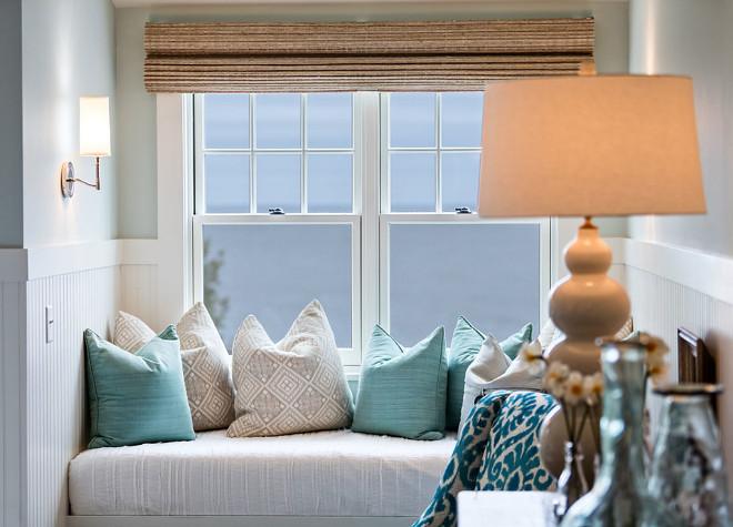 Bedroom window seat. Bedroom window seat pillows. Bedroom window seat cushion. Bedroom window seat #Bedroomwindowseat #Bedroom #windowseat Mitch Wise Design,Inc.