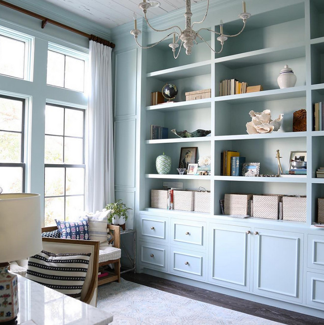 Benjamin Moore HC-147 Woodlawn Blue. Benjamin Moore HC-147 Woodlawn Blue Cabinet Paint Color Benjamin Moore HC-147 Woodlawn Blue #BenjaminMooreHC147WoodlawnBlue #BenjaminMooreWoodlawnBlue #BenjaminMooreWoodlawnBlue #BenjaminMoorepaintcolors Old Seagrove Homes