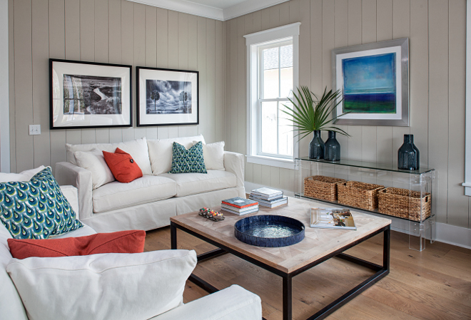 Coastal farmhouse cottage with vertical shiplap paneling. Coastal farmhouse cottage with vertical shiplap paneling. Coastal farmhouse cottage with vertical shiplap paneling. Coastal farmhouse cottage with vertical shiplap paneling #Coastalfarmhouse #Coastalfarmhousecottage #verticalshiplap #verticalshiplappaneling Lisa Furey - Barefoot Interiors