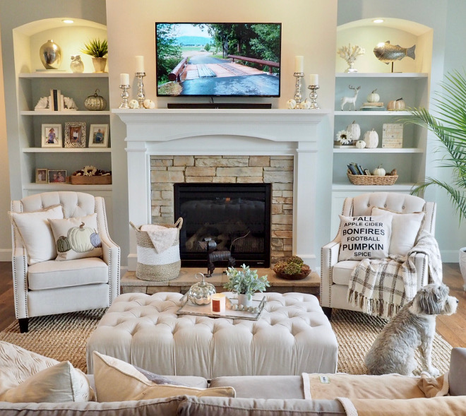 53 Inspirational Living Room Decor Ideas: Instagram Fall Decorating Ideas