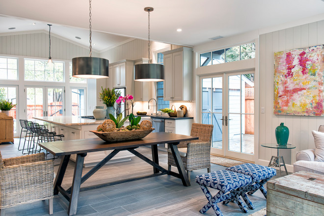 Farmhouse Open Concept Kitchen Dining room and family room. Farmhouse Open Concept Kitchen Dining room and family room. Farmhouse Open Concept Kitchen Dining room and family room #FarmhouseOpenConcept #OpenConceptKitchen #OpenConceptDiningroom #OpenConceptfamilyroom Tama Bell Design