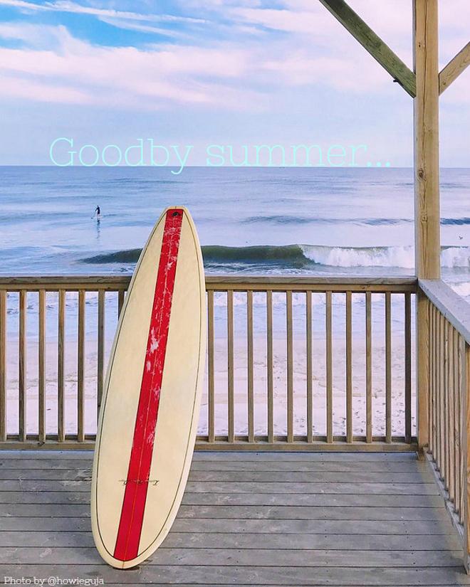 Goodby summer