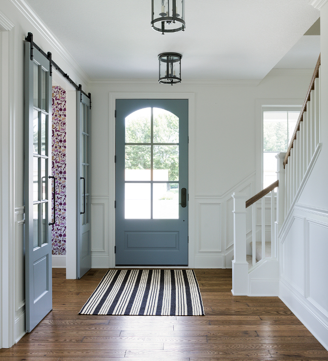 Grey Interior Door Paint Color. Interior Door Paint Color Sherwin Williams  Grey Matters SW 7066