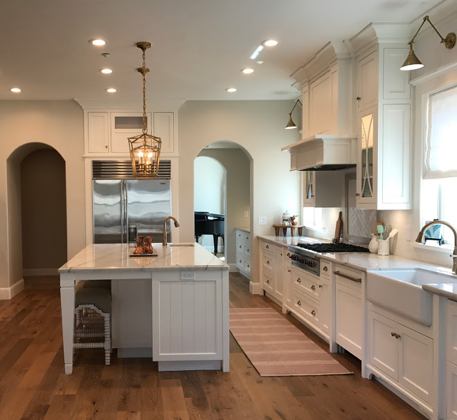 New Classic White Kitchen Renovation Inspiration Home