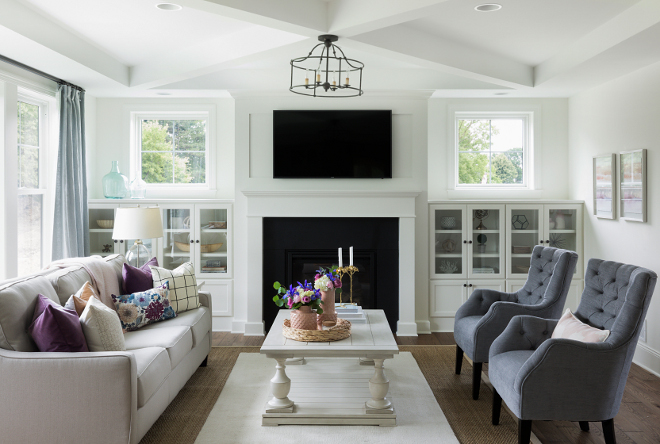 Open concept family home design ideas home bunch - Open concept living room furniture placement ...
