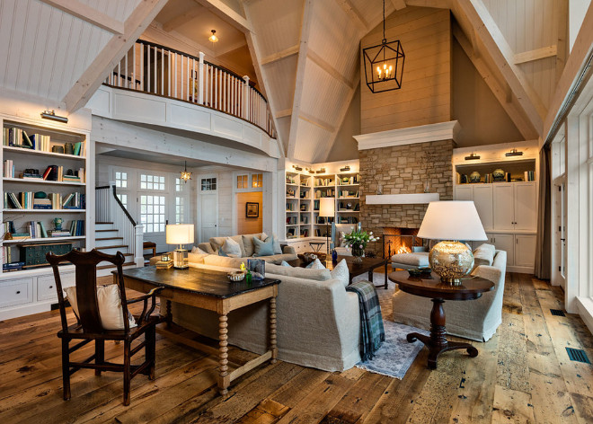 Lake House Living room with knotty pine beams, stone and shiplap fireplace, beadboard ceiling and reclaimed hay loft pine plank hardwood floors. Lake House Living room with knotty pine beams, stone and shiplap fireplace, beadboard ceiling and reclaimed hay loft pine plank hardwood floors. Lake House Living room with knotty pine beams, stone and shiplap fireplace, beadboard ceiling and reclaimed hay loft pine plank hardwood floors. Lake House Living room with knotty pine beams, stone and shiplap fireplace, beadboard ceiling and reclaimed hay loft pine plank hardwood floors #LakeHouse #Livingroom #knottypinebeams #stoneandshiplapfireplace #beadboardceiling #reclaimedhayloftpine #plankhardwoodfloors Mitch Wise Design,Inc.
