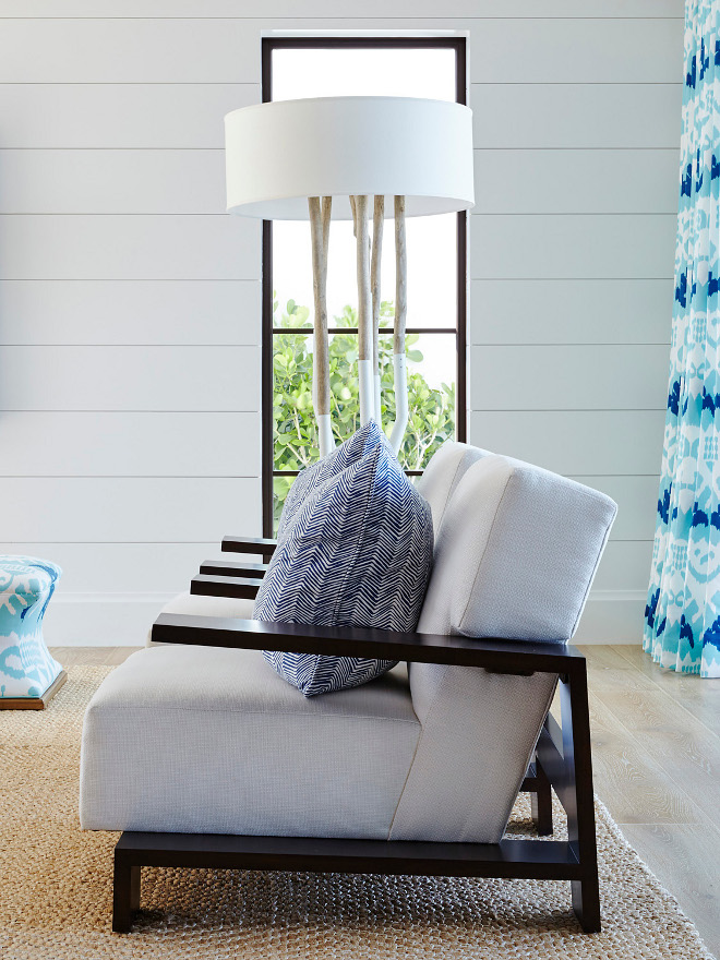 Low back living room chairs. Low back living room chairs are perfect to not obscure a view. Chairs are Ralph Lauren. Low back living room chairs. Low back living room furniture #Lowbacklivingroomchairs #Lowbackchairs #livingroomchairs Pineapples Palms, Etc