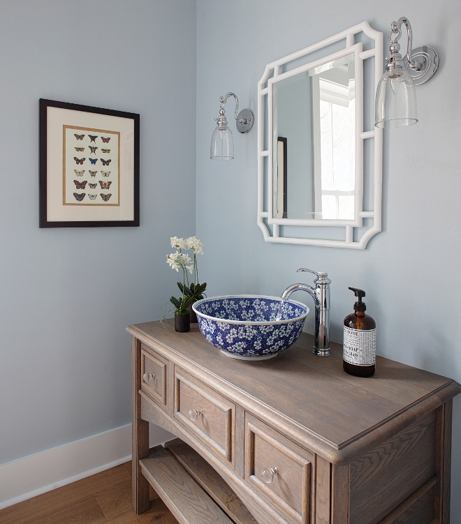 Sherwin Williams Paint Colors Sherwin Williams Sleepy Blue. Sherwin Williams SW 6225 Sleepy Blue. Sherwin Williams SW 6225 Sleepy Blue #SherwinWilliamsSW6225SleepyBlue #SherwinWilliamsPaintColors Lisa Furey - Barefoot Interiors