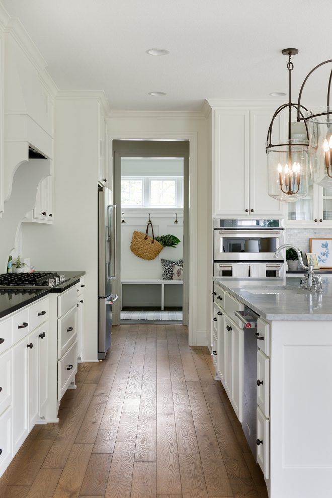 White kitchen hardwood floors. White kitchen hardwood floors. White kitchen hardwood floors. White kitchen hardwood floors. White kitchen hardwood floors #Whitekitchen #hardwoodfloors Bria Hammel Interiors