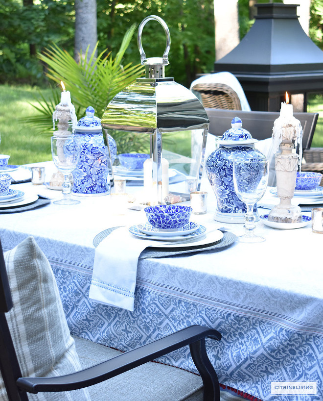 blue-and-white-tablescape-ginger-jars-large-lantern-candles-blue-and-white-tablescape-ginger-jars-large-lantern-candles-blue-and-white-tablescape-ginger-jars-large-lantern-candles Beautiful Homes of Instagram @citrineliving Home Bunch