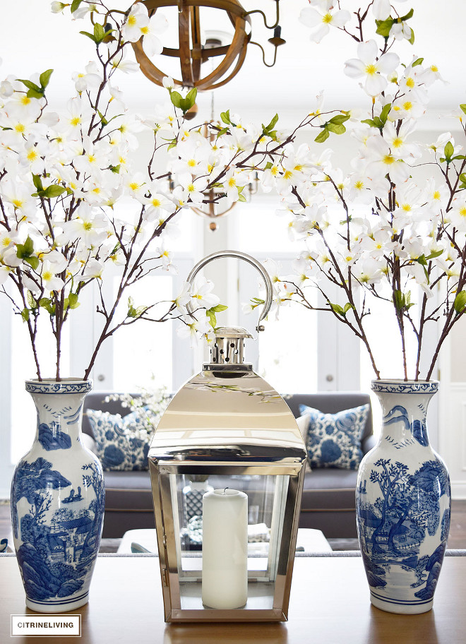 chrome-metal-lantern-blue-and-white-vase-spring-branches-chrome-metal-lantern-blue-and-white-vase-spring-branches-chrome-metal-lantern-blue-and-white-vase-spring-branches-chrome-metal-lantern-blue-and-white-vase-spring-branches Beautiful Homes of Instagram @citrineliving Home Bunch