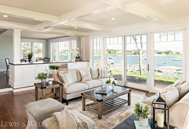 Beach house living room. Beach house living room. Beach house living room. Beach house living room #Beachhouse #livingroom Lewis & Weldon Custom Kitchens