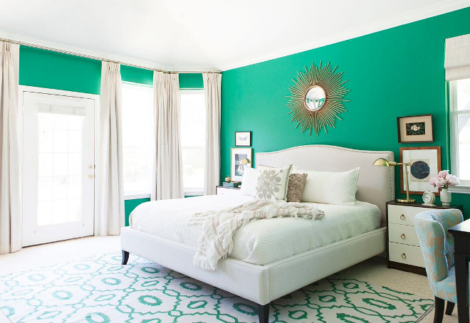 Benjamin Moore Emerald Isle Green Paint Color