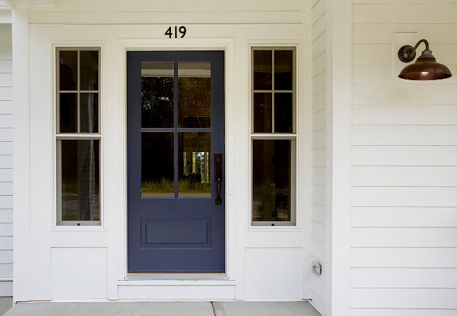 Benjamin Moore Paint Colors Navy Door Paint Color Benjamin Moore Hale Navy  HC 154.