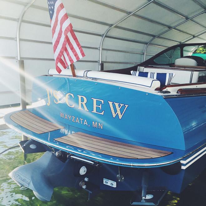 Boat #boat Beautiful Homes of Instagram @SweetShadyLane