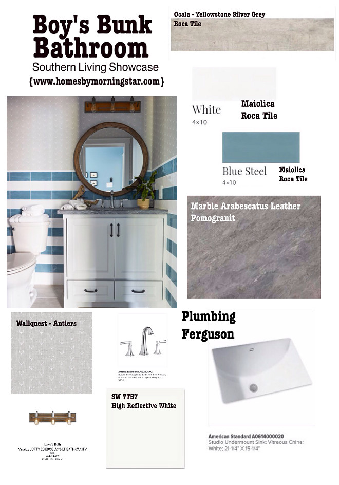 Coastal Farmhouse Bathroom Sources. Pin and save this to remember all sources for this coastal farmhouse bathroom #coastalfarmhouse #bathroom #sources Morning Star Builders
