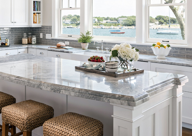 "Countertop Edge profile. C The island countertop has 2 1/2"" thick build up of Dupont over eased edge treatment. The perimeter countertop are eased edge.ountertop Edge profile. Countertop Edge profile. Countertop Edge profile #CountertopEdgeprofile #Countertop #Edgeprofile"