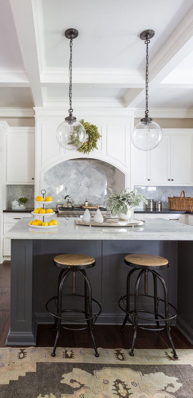 Kitchen Lighting and stools. The right lighting and stools can change the look of your kitchen #kitchenlighting #kitchenstools #kitchen #lighting #stools Marie Flanigan Interiors