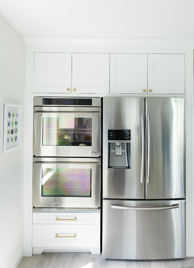 Kitchen appliance cabinet. Kitchen appliance cabinet with ovens and refrigerator. Kitchen appliance cabinet. Kitchen appliance cabinet #Kitchen #appliancecabinet Simply Beautiful Eating