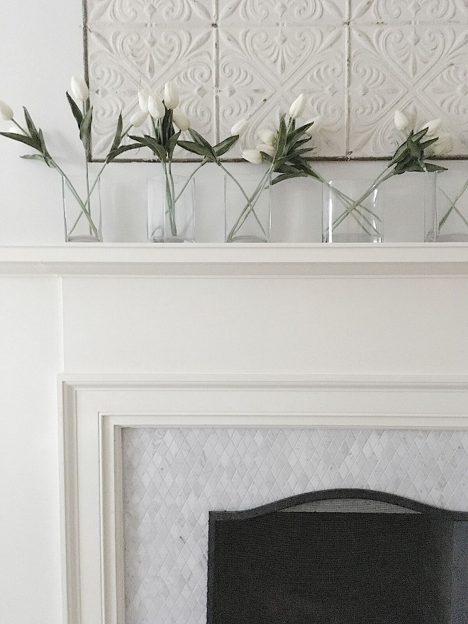 Marble diamond fireplace tile. Marble diamond fireplace tile. Marble diamond fireplace tile. Marble diamond fireplace tile. Marble diamond fireplace tile Classic Marble diamond fireplace tile #Marblediamondtile #fireplacetile Beautiful Homes of Instagram @my100yearoldhome