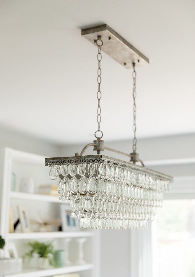Pottery Barn Lighting Clarissa Crystal Drop Rectangular Chandelier. Clarissa Crystal Drop Rectangular Chandelier. Pottery Barn Lighting Clarissa Crystal Drop Rectangular Chandelier #PotteryBarn #Lighting #Clarissa #CrystalDrop #RectangularChandelier Simply Beautiful Eating