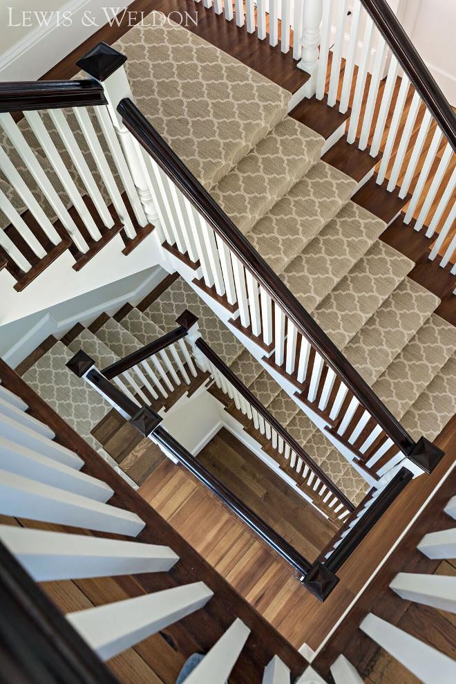 Staircase Runner. Trellis Staircase Runner. Staircase Runner. Staircase Runner. Staircase Runner #StaircaseRunner #trellisStaircaserunner #trellis Lewis & Weldon Custom Kitchens