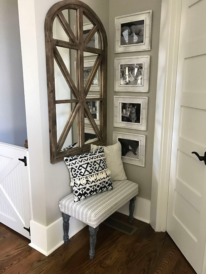 Sherwin Williams Paint Colors. Sherwin Williams SW 7044 Amazing Gray. Sherwin Williams SW 7044 Amazing Gray. Sherwin Williams SW 7044 Amazing Gray Paint Color #SherwinWilliamsSW7044AmazingGray Home Bunch Beautiful Homes of Instagram @mygeorgiahouse