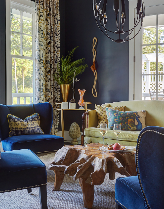 Sherwin Williams SW 7615 Sea Serpent Grey navy paint color. Sherwin Williams SW 7615 Sea Serpent #SherwinWilliamsSW7615SeaSerpent #greynavy #paintcolor Morning Star Builders