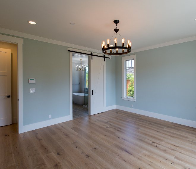 Sherwin Williams paint color. Sherwin Williams Sea Salt Flat. Sherwin Williams Sea Salt is a soothing color that works great in bedrooms and bathrooms. Sherwin Williams Sea Salt #SherwinWilliamsSeaSalt AK Construction