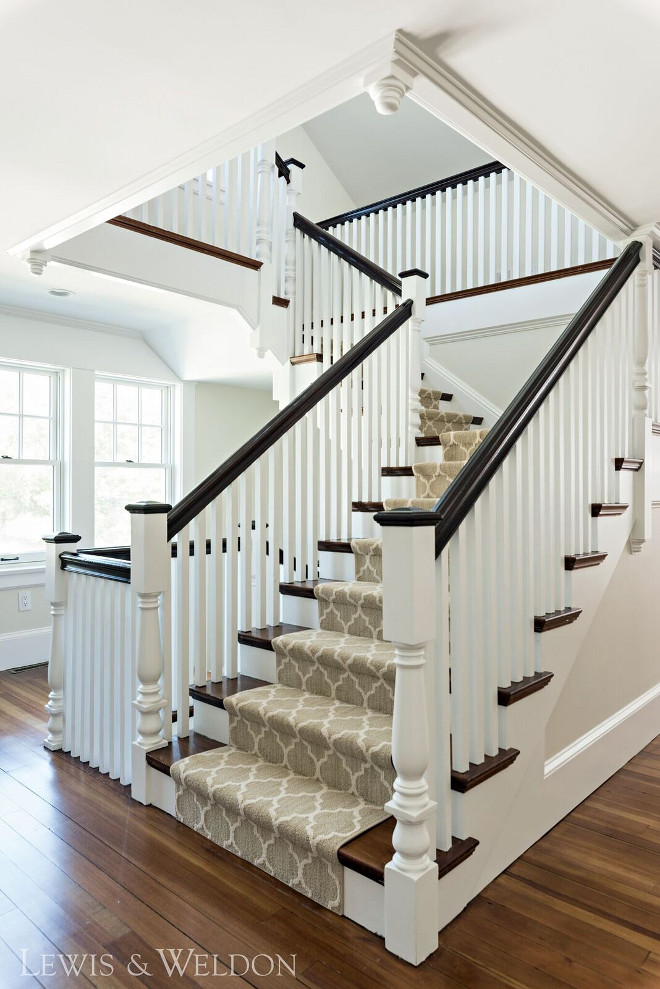 Traditional Staircase. Traditional Staircase. Traditional Staircase. Traditional Staircase. Traditional Staircase #TraditionalStaircase Lewis & Weldon Custom Kitchens