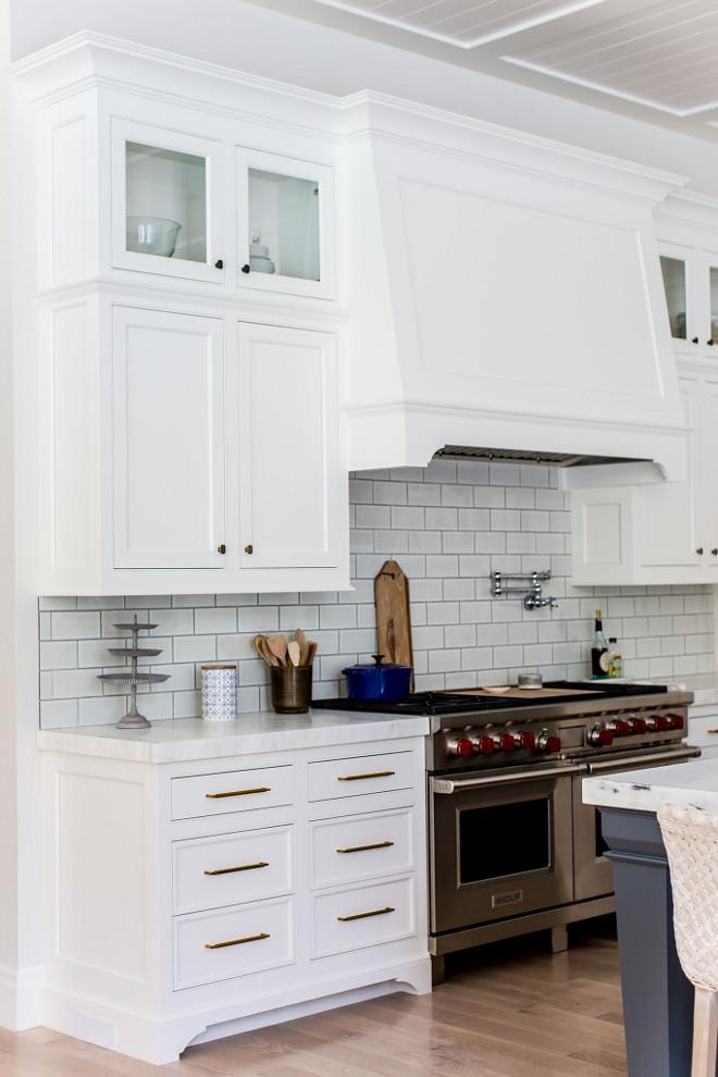 White Kitchen Backsplash Tile. White Kitchen Backsplash Tile. White Kitchen Backsplash Tile. White Kitchen Backsplash Tile. White Kitchen Backsplash Tile #WhiteKitchen #BacksplashTile Caitlin Creer Interiors. C. S. Cabinetry & Design