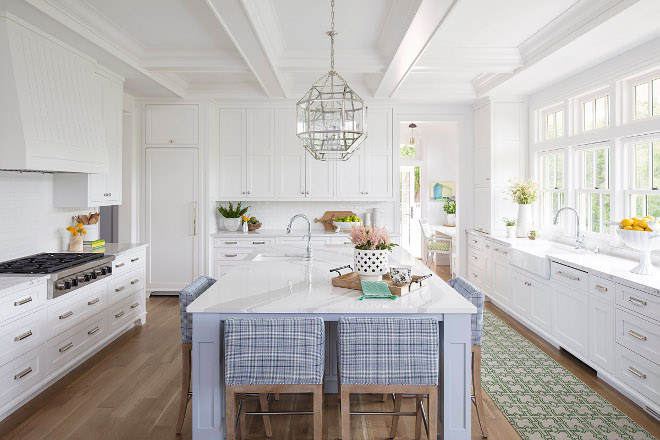 White kitchen with grey island paint color. White kitchen with grey island paint color. White kitchen with grey island paint color. White kitchen with grey island paint color. White kitchen with grey island paint color. White kitchen with grey island paint color #Whitekitchen #greyisland #paintcolor Martha O'Hara Interiors