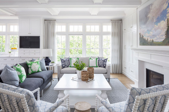 Hamptons Inspired Home With Coastal Colors Home Bunch