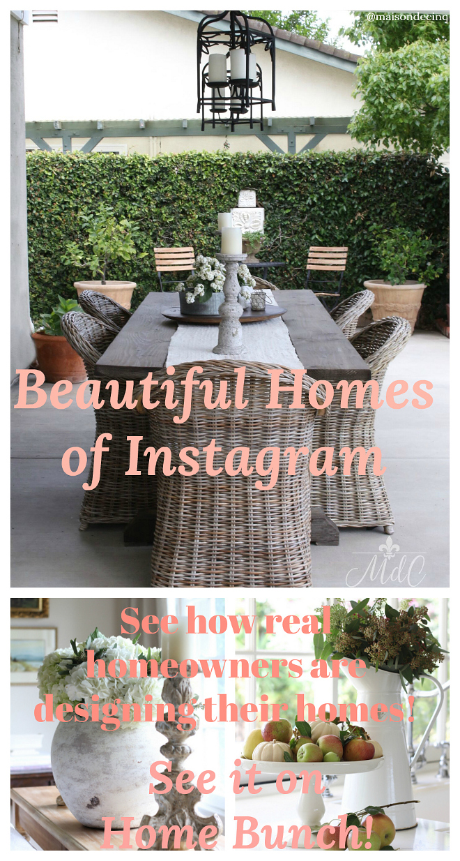 Beautiful Homes of Instagram. See how real homeowners are designing their homes. See it all on Home Bunch