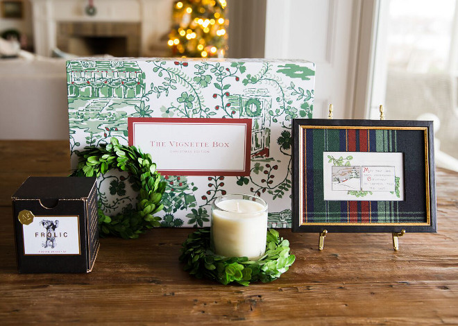 Best Christmas Gift Ideas Christmas Vignette Box Christmas Vignette Box