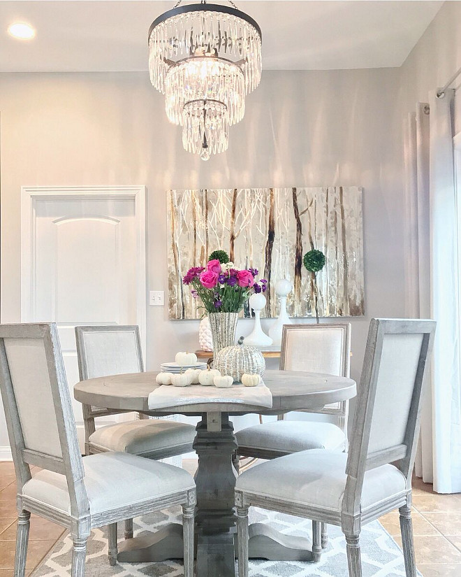 Breakfast room chandelier, Pottery Barn Breakfast room chandelier, Breakfast room chandelier #Breakfastroom #chandelier #potterybarnchandelier Beautiful Homes of Instagram Home Bunch