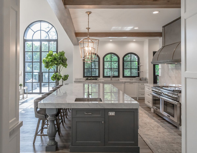 Carrara Marble Countertop. Polished Carrara Marble Countertop. Carrara Marble Countertop. Carrara Marble Countertop #Carrara #Marble #Countertop Tree Haven Homes & Danielle Loryn Design