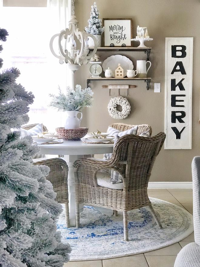 Christmas Breakfast Nook Christmas Breakfast Nook Decorating Ideas Christmas Breakfast Nook Christmas Breakfast Nook