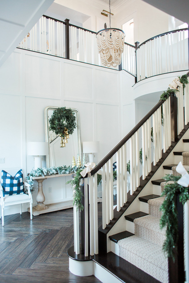 Christmas Two Story Foyer Decorating Ideas Christmas Two Story Decorating Ideas Christmas Two Story Foyer Decorating Ideas #ChristmasTwoStoryFoyerDecoratingIdeas