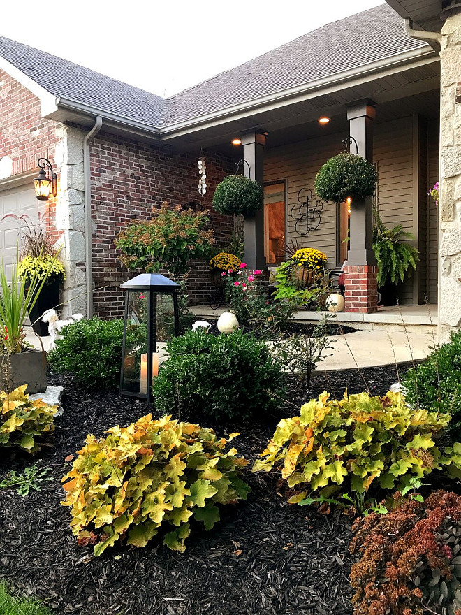 Curb appeal how to add beauty to your curb appeal #curbappeal Beautiful Homes of Instagram Home Bunch