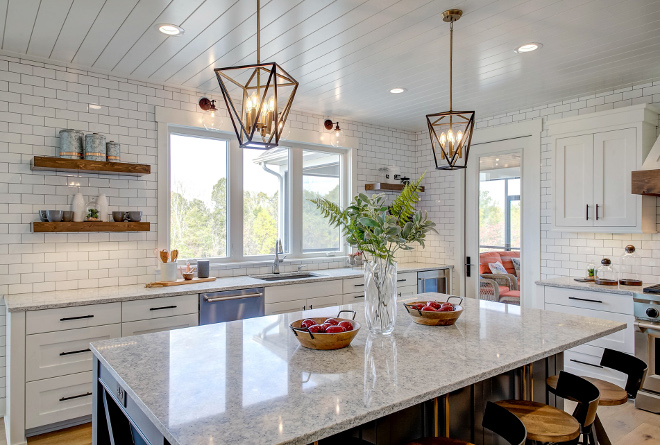 Farmhouse Kitchen pendants