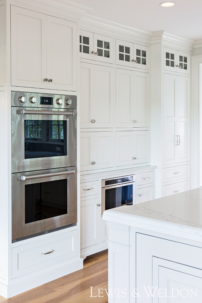 Floor to ceiling kitchen cabinet ideas The lack of storage, due to the restricted space, was another issue that needed to be addressed The answer was numerous built-ins and various nooks to provide additional storage options