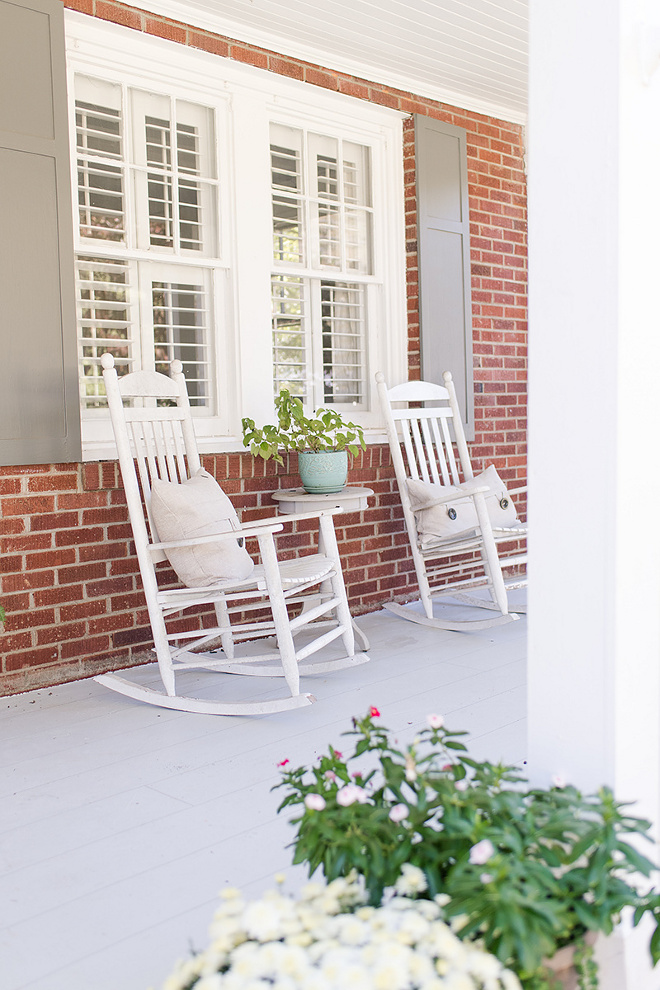 Front Porch Rocking Chairs Brick Front Porch Rocking Chairs Front Porch Rocking Chairs Front Porch Rocking Chairs #FrontPorch #RockingChairs