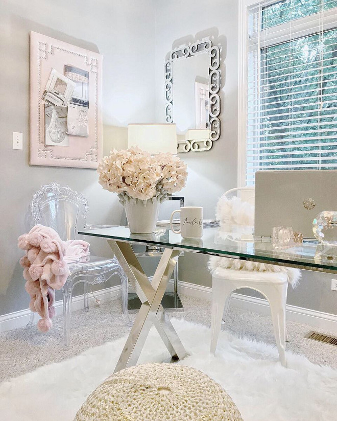 Grey and blush pink home office color scheme Grey and blush pink home office color scheme Grey and blush pink home office color scheme Grey and blush pink home office color scheme #Greyandblushpink #homeoffice #colorscheme