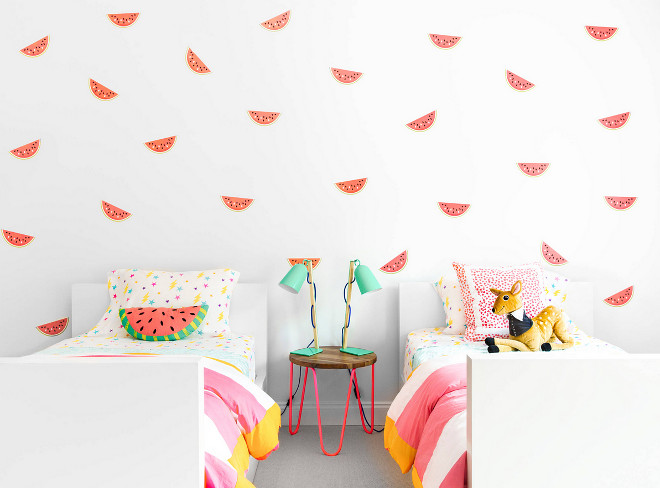 Kids Bedroom Wall Decall watermelon wall prints