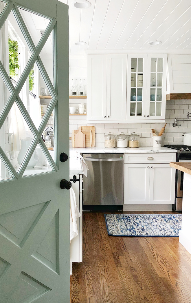 Kitchen Door Kitchen I would trade any kitchen door to this charming Robin's egg blue door, Door Kitchen Door Kitchen Door Kitchen Door Kitchen Door #KitchenDoor